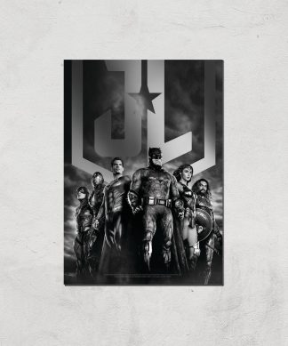 Justice League Team Poster Giclee Art Print - A3 - Print Only chez Casa Décoration