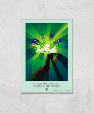 Game of Thrones Brave Men Affiche Artistique - A4 - Print Only chez Casa Décoration