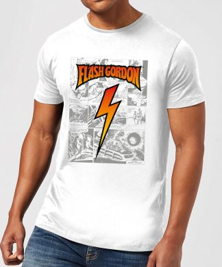 Flash Gordon Comic Strip Men's T-Shirt - White - XS - Blanc chez Casa Décoration