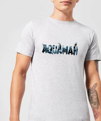 Aquaman Chest Logo Men's T-Shirt - Grey - XS - Gris chez Casa Décoration