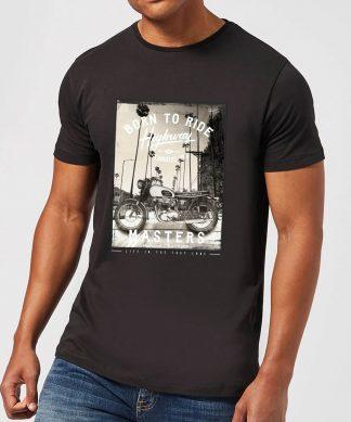 Born To Ride Men's T-Shirt - Black - XS - Noir chez Casa Décoration