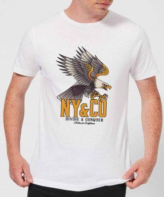 Eagle Tattoo Men's T-Shirt - White - XS - Blanc chez Casa Décoration