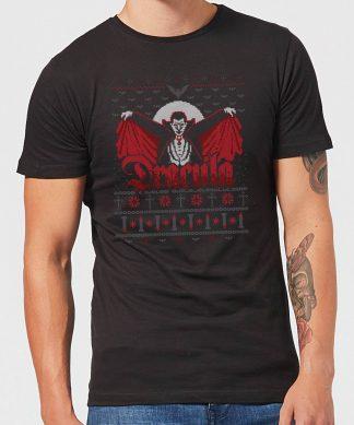 T-Shirt de Noël Homme Universal Monsters Dracula - Noir - XS chez Casa Décoration