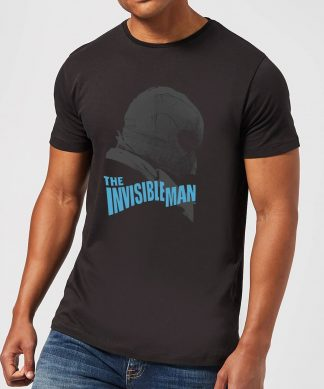 T-Shirt Homme L'Homme Invisible (Tons Gris) - Universal Monsters - Noir - XS - Noir chez Casa Décoration