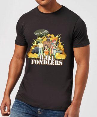 T-Shirt Homme Ball Fondlers Rick et Morty - Noir - XS - Noir chez Casa Décoration