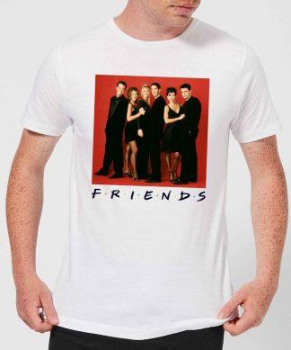 T-Shirt Homme Tenue de Soirée - Friends - Blanc - XS - Blanc chez Casa Décoration