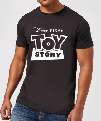 T-Shirt Homme Contour du Logo Toy Story - Noir - XS - Noir chez Casa Décoration
