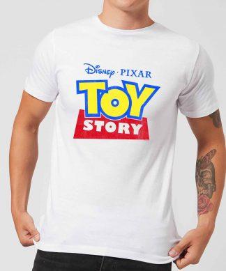 T-Shirt Homme Logo Toy Story - Blanc - XS - Blanc chez Casa Décoration