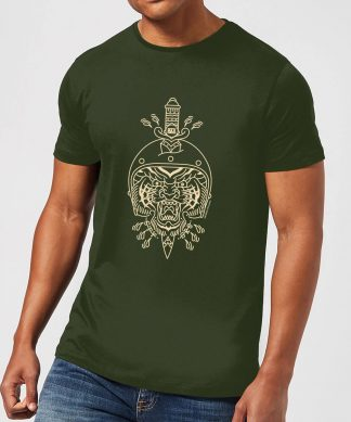 Stay Strong Athens Men's T-Shirt - Forest Green - XS - Forest Green chez Casa Décoration