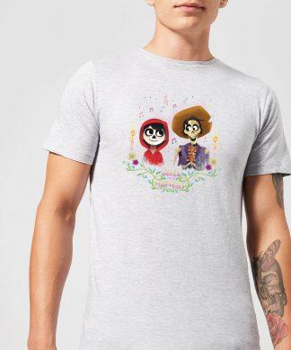 T-Shirt Homme Miguel et Hector Coco - Gris - XS - Gris chez Casa Décoration