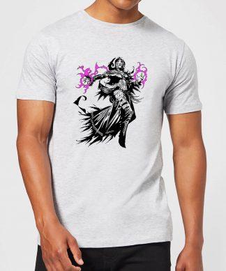 T-Shirt Homme Liliana Design - Magic : The Gathering - Gris - XS chez Casa Décoration