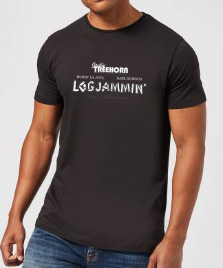 T-Shirt Homme The Big Lebowski Logjammin- Noir - XS - Noir chez Casa Décoration