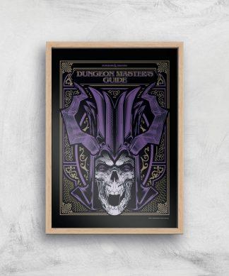 Donjons & Dragons Dungeon Master Giclee Art Print - A4 - Wooden Frame chez Casa Décoration