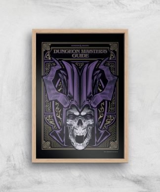 Donjons & Dragons Dungeon Master Giclee Art Print - A3 - Wooden Frame chez Casa Décoration