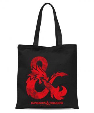 Donjons & Dragons Infernal Tote Bag Tote Bag - noir chez Casa Décoration