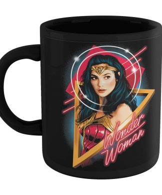 Wonder Woman & The Cheetah Tasse - Noir chez Casa Décoration