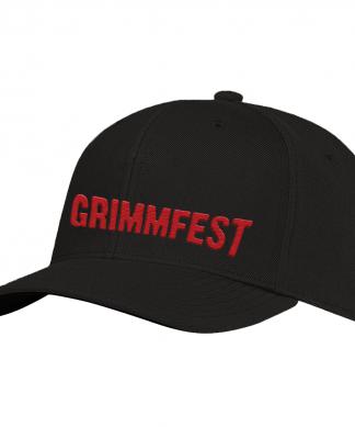 Grimmfest 2020 Font Logo Embroidered Cap chez Casa Décoration