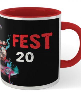 Grimmfest 2020 Mug - White/Red chez Casa Décoration