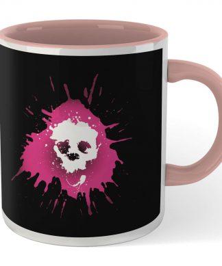 Grimmfest 2020 Pink Skull Logo Mug - White/Pink chez Casa Décoration