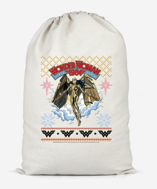 Wonder Women 1984 Cotton Storage Bag - Small chez Casa Décoration