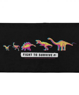 Jurassic Park Fight To Survive - Fitness Towel chez Casa Décoration