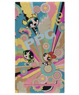 The Powerpuff Girls Colourful - Fitness Towel chez Casa Décoration