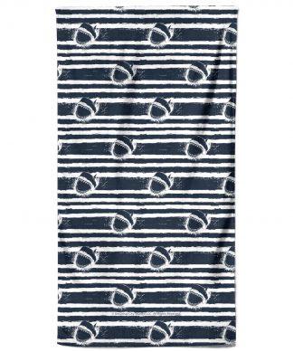 Jaws Stripes Bath Towel chez Casa Décoration