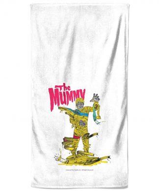 Universal Monsters The Mummy Bath Towel chez Casa Décoration