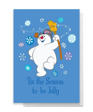 Tis The Season To Be Jolly Greetings Card - Large Card chez Casa Décoration