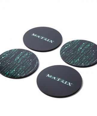 The Matrix Lot de sous-verre chez Casa Décoration
