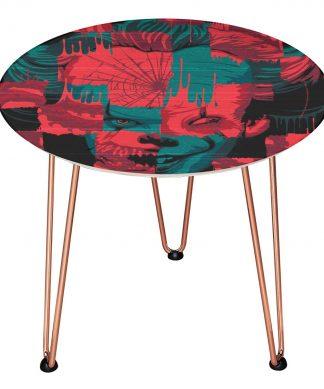 Table en bois Decorsome - Ça : Chapitre 2 - Doré chez Casa Décoration