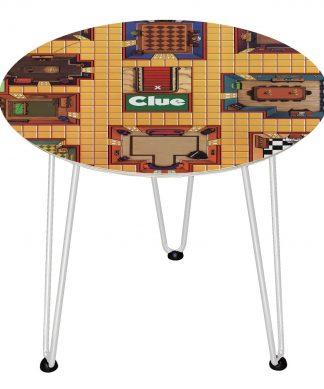 Table en bois Decorsome - Cluedo - Blanc chez Casa Décoration