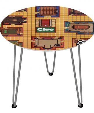 Table en bois Decorsome - Cluedo - Silver chez Casa Décoration