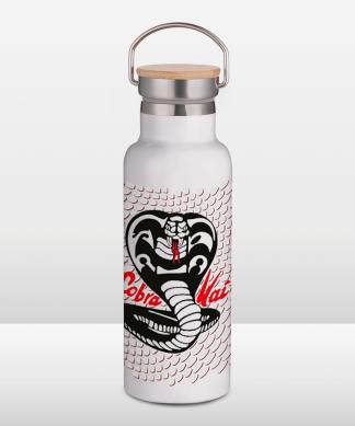 Cobra Kai Portable Bouteille d'eau thermique - Blanc chez Casa Décoration
