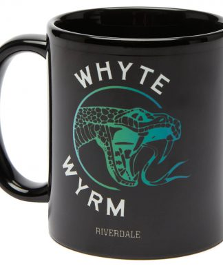 Riverdale Whyte Wyrm Mug - Black chez Casa Décoration