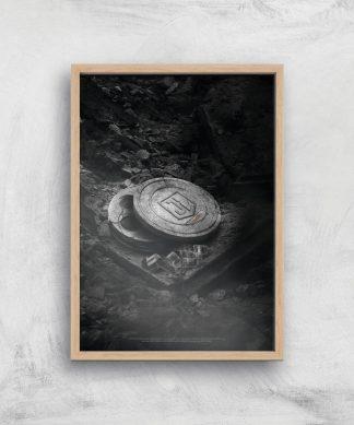 Justice League Snyder Cut Film Reels Poster Giclee Art Print - A4 - Wooden Frame chez Casa Décoration