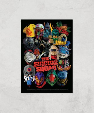 Suicide Squad Poster Giclee Art Print - A4 - Print Only chez Casa Décoration