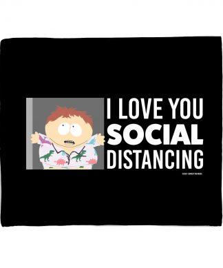 South Park I Love You Social Distancing Fleece Blanket - S chez Casa Décoration