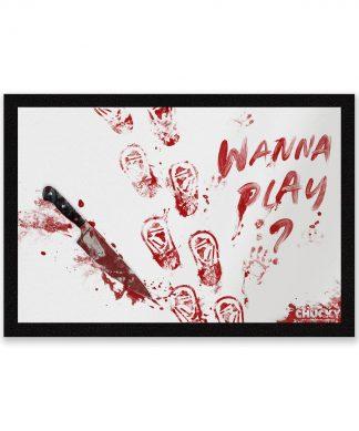 Chucky Wanna Play? Entrance Mat - Zavvi Exclusive chez Casa Décoration