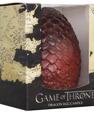 Game of Thrones Sculpted Candle Egg - Red chez Casa Décoration