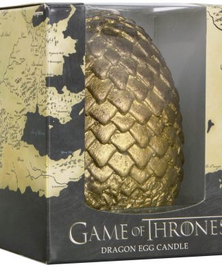 Game of Thrones Sculpted Candle Egg - Gold chez Casa Décoration