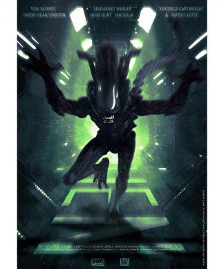 Aliens (Run) Print chez Casa Décoration
