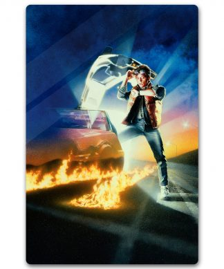 Zavvi Exclusive Limited Edition Back To The Future Metal Poster - 40 X 60cm chez Casa Décoration