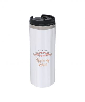 Friends You're My Lobster Duo Stainless Steel Thermo Travel Mug - Metallic Finish chez Casa Décoration