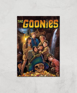 The Goonies Classic Cover Giclee Art Print - A4 - Print Only chez Casa Décoration