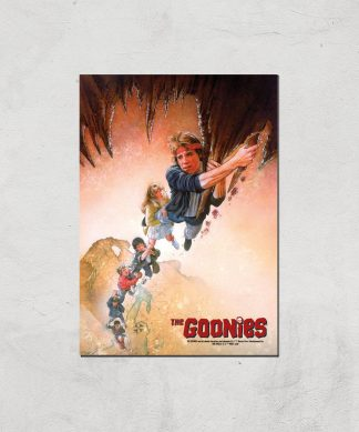 The Goonies Retro Poster Giclee Art Print - A4 - Print Only chez Casa Décoration