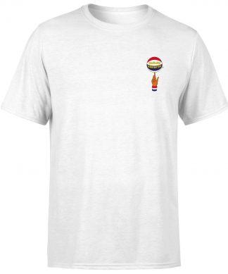 Harlem Globetrotters Unisex T-Shirt - White - XS chez Casa Décoration