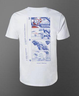 T-shirt Star Wars Attack On Echo Base - Blanc - Unisexe - XS - Blanc chez Casa Décoration