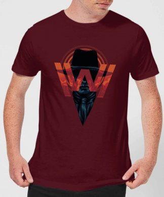 Westworld V.I.P Men's T-Shirt - Burgundy - XS chez Casa Décoration