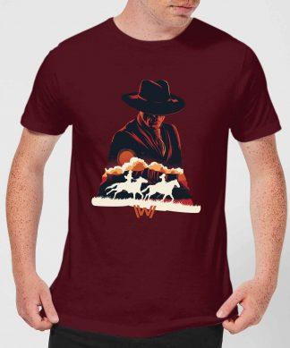 Westworld The Door Men's T-Shirt - Burgundy - XS - Burgundy chez Casa Décoration